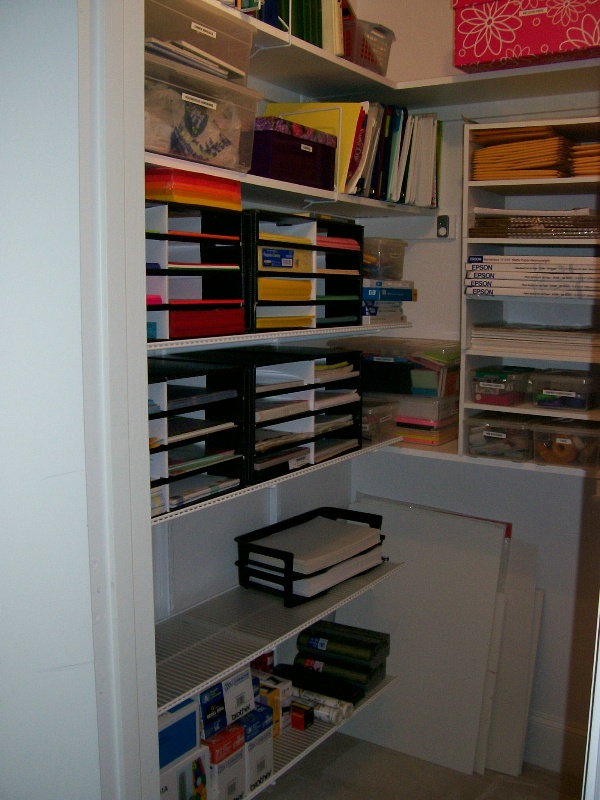 Organizing An Office Simple With Office Supply Closet Photos